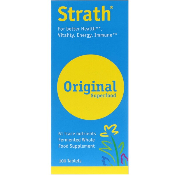 Bio-Strath, Strath, Original Superfood, 100 Tablets