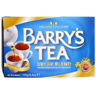 Barry's Tea, Decaf Blend, 40 Tea Bags, 4.4 oz (125 g)
