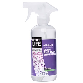 Better Life, Stain and Odor Eliminator, Eucalyptus & Lemongrass, 16 fl oz (473 ml)