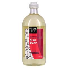 Better Life, Dish It Out 系列天然洗碗精,石榴味,22 液量盎司(651 毫升)