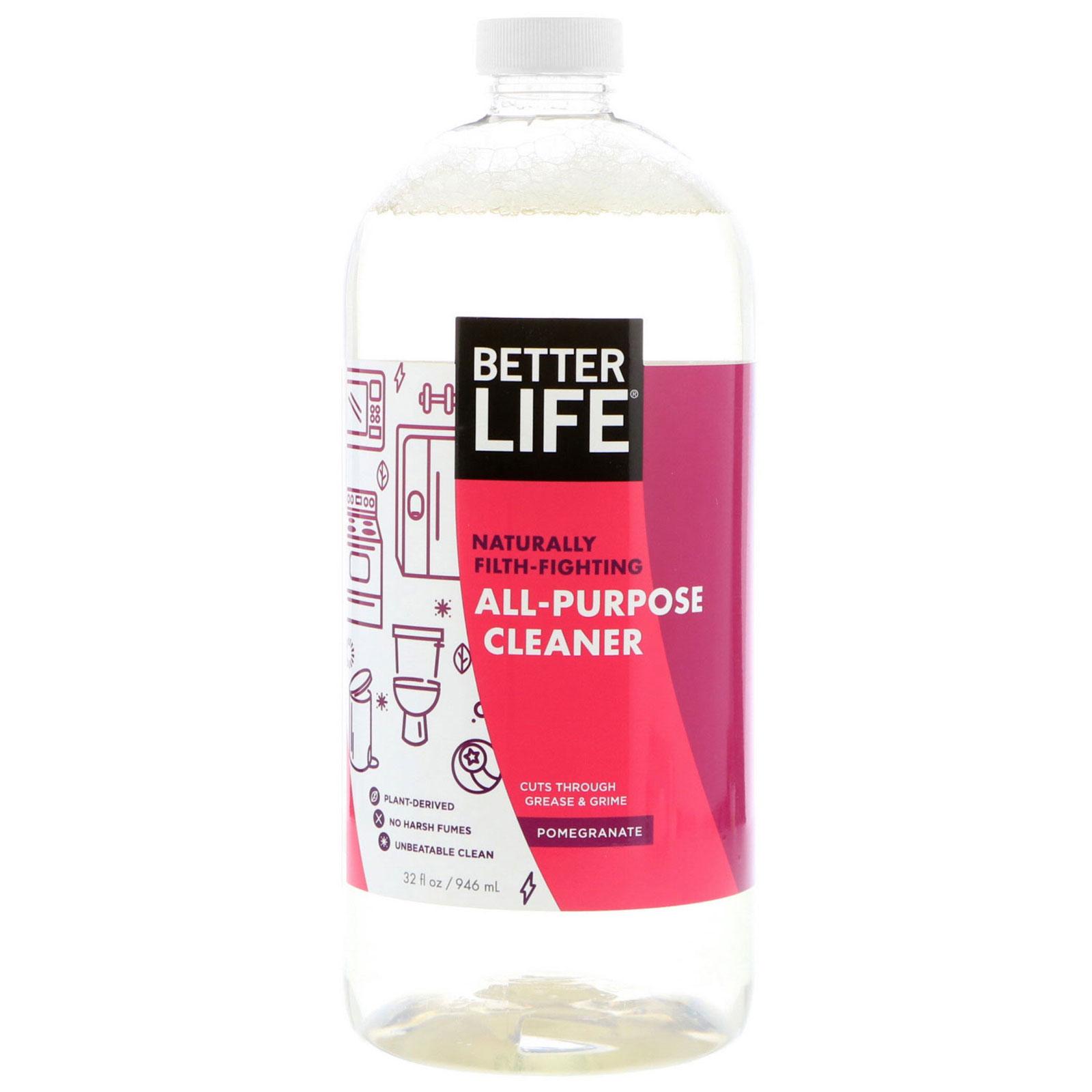 Better Life All Purpose Cleaner Pomegranate 32 Fl Oz 946 Ml