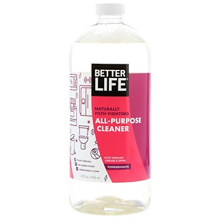 Better Life, All-Purpose Cleaner, Pomegranate, 32 fl oz (946 ml)