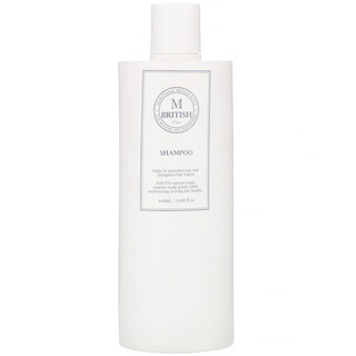 British M, Ethic, Shampoo, 14.88 fl oz (440 ml)