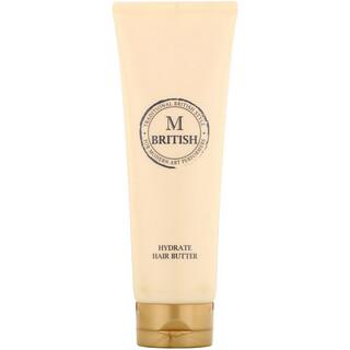 British M, Hydrate Hair Butter, 8.81 oz (250 g)