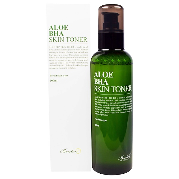 Benton, Aloe BHA Skin Toner, 200 ml (Discontinued Item)