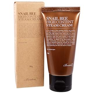 Benton, Snail Bee High Content Steam Cream, 50 g