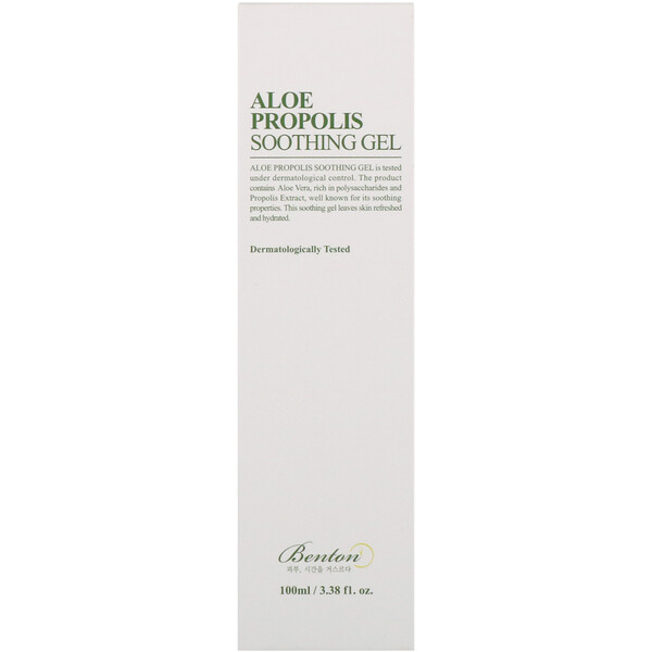 Benton, Aloe Propolis Soothing Gel, 3.38 fl oz (100 ml)