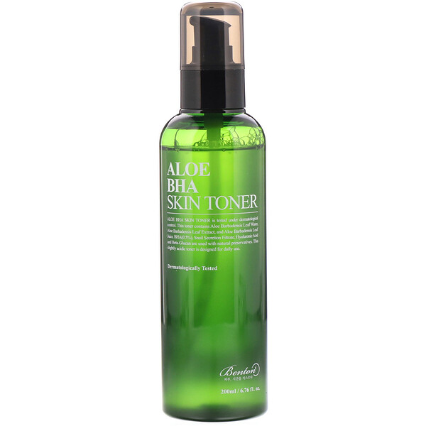 Aloe BHA Skin Toner, For All Skin Types, 200 ml