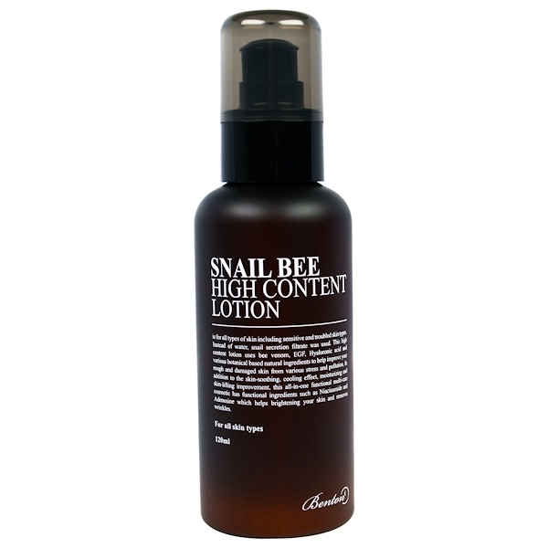 Benton, Snail Bee, High Content Lotion, 120 ml (Discontinued Item)