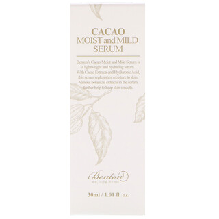 Benton, Cacao Moist and Mild Serum, 1.0 fl oz (30 ml)