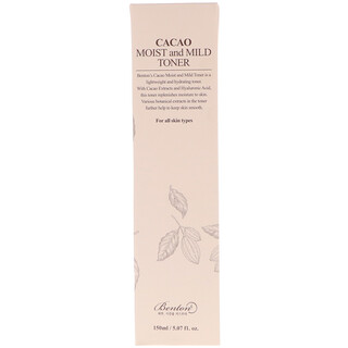 Benton, Cacao Moist and Mild Toner, 5.07 fl oz (150 ml)