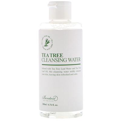 Купить Benton Tea Tree Cleansing Water, 6.76 fl oz (200 ml)