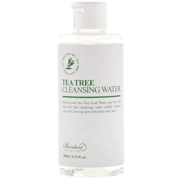 Tea Tree Cleansing Water, 6.76 fl oz (200 ml)