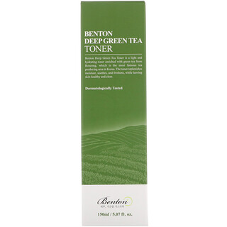 Benton, Deep Green Tea Toner, 5.07 fl oz (150 ml)