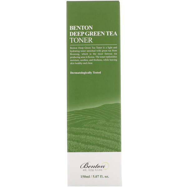Benton, Deep Green Tea Toner, 5.07 fl oz (150 ml)