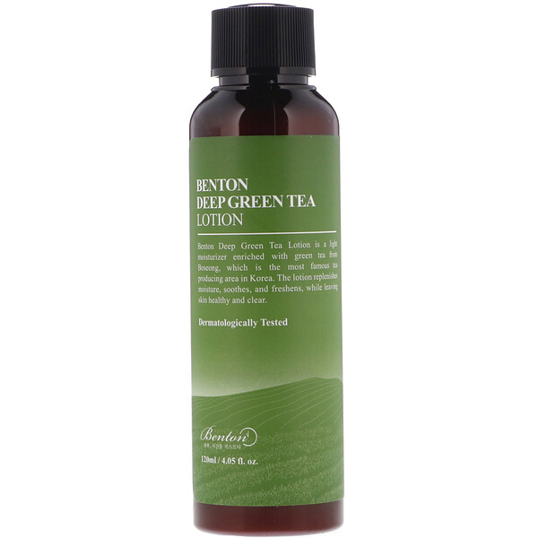 Deep Green Tea Lotion, 4.05 fl oz (120 ml)