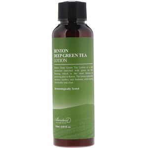 Бентон, Deep Green Tea Lotion, 4.05 fl oz (120 ml) отзывы покупателей