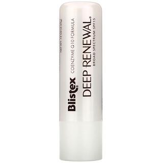 Blistex, Deep Renewal, Anti-Aging Treatment, Lip Protectant/Sunscreen, SPF 15, .13 oz (3.69 g)