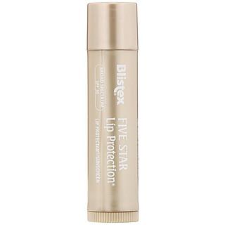 Blistex, Five Star Lip Protection, SPF 30, .15 oz (4.25 g)