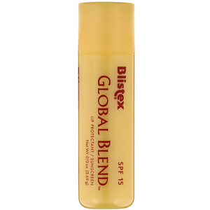 Блистекс, Global Blend, Lip Protectant/Sunscreen, SPF 15, 0.13 oz (3.69 g) отзывы покупателей