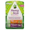 Blistex, Hemp & Acai, Lip Moisturizer, Renewal, Raspberry Ginger & Cherry Cream, 2 Pack, 0.15 oz (4.25 g) Each