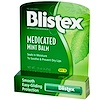 Blistex, Lip Protectant/Sunscreen, SPF 15, Medicated Mint Balm, .15 oz (4.25 g)