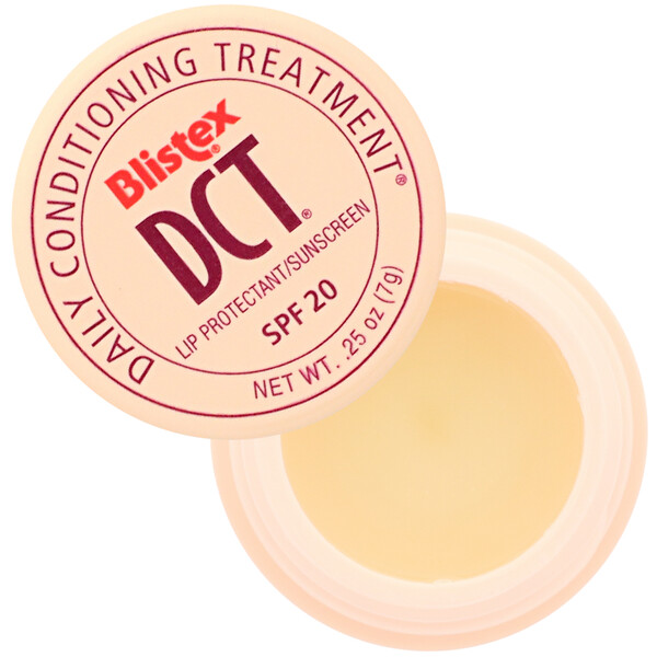 Blistex, DCT (Daily Conditioning  Treatment) for Lips, SPF 20, 0.25 oz (7.08 g)