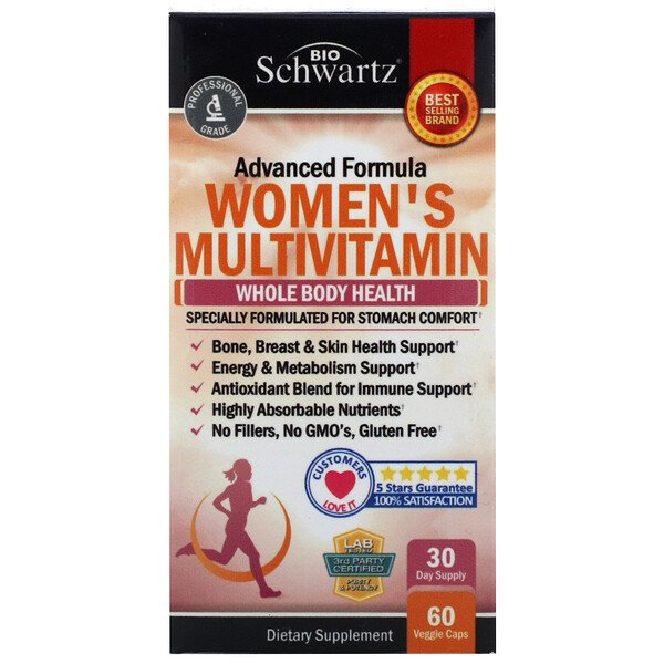 Advanced Formula Women's Multivitamin, 60 Veggie Caps