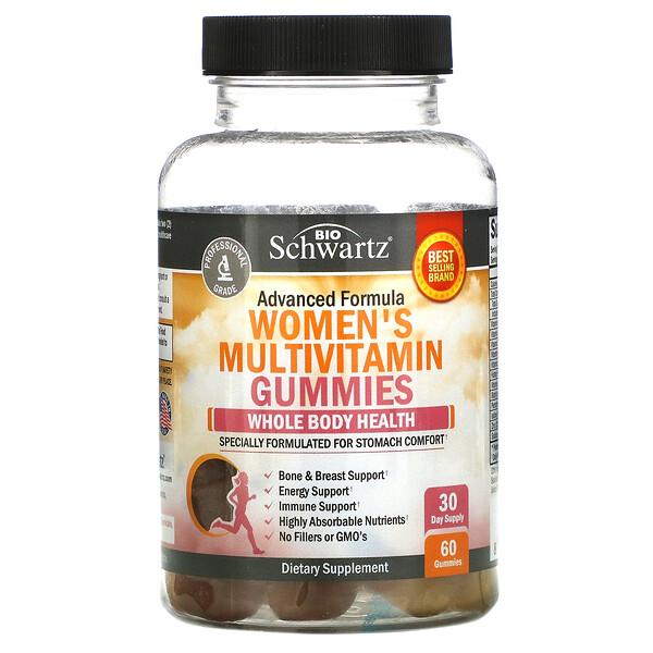 Advanced Formula Women's Multivitamin Gummies, 60 Gummies