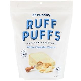 Buckley, Ruff Puffs, White Cheddar Flavor, 100 Treats, 4 oz (113 g)