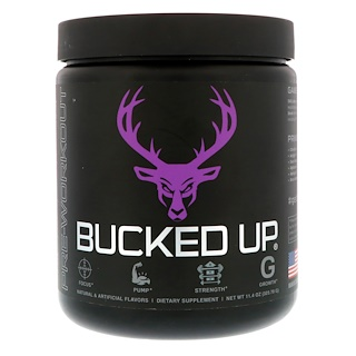 Bucked Up, Pre-Workout, Grape Gainz, 11.4 oz (323.70 g)