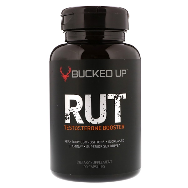 Bucked Up, RUT, Testosterone Booster, 90 Capsules (Discontinued Item)