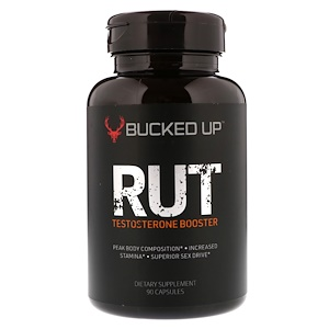 Bucked Up, RUT, Testosterone Booster, 90 Capsules отзывы