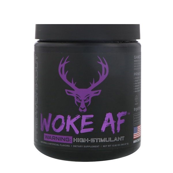 Bucked Up, Woke AF, Pre-Workout, Grape Gainz, 12.82 oz (363.57 g)