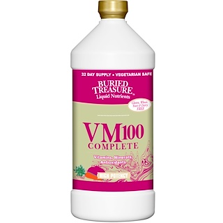 Buried Treasure, Liquid Nutrients, VM100 Complete, 32 fl oz (946 ml)