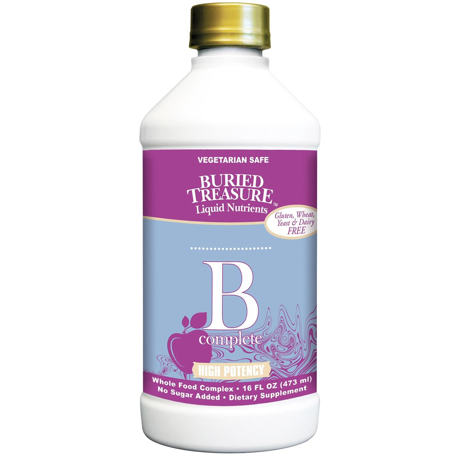 Buried Treasure, B Complete, High Potency, 16 fl oz (473 ml)