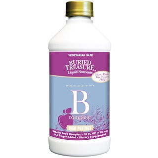 Buried Treasure, Nutritionals, B Complete, 16 fl oz (473 ml)