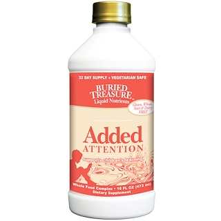 Buried Treasure, Liquid Nutrients, Added Attention, 16 fl oz (473 ml)