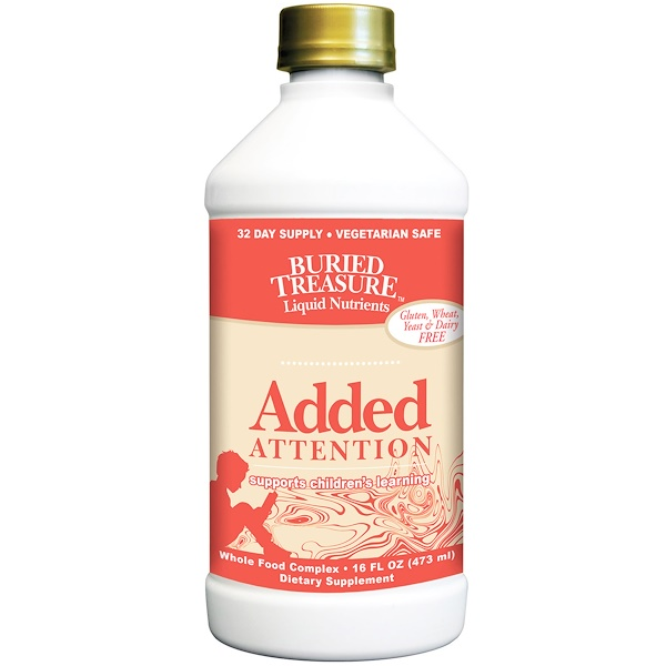 Liquid Nutrients, Added Attention, 16 fl oz (473 ml)