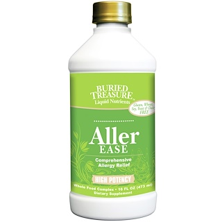 Buried Treasure, Liquid Nutrients, Aller Ease, 16 fl oz (473 ml)