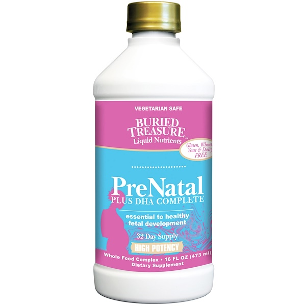 Buried Treasure, Prenatal Plus, DHA Complete, 16 жидких унций (473 мл) (Discontinued Item)