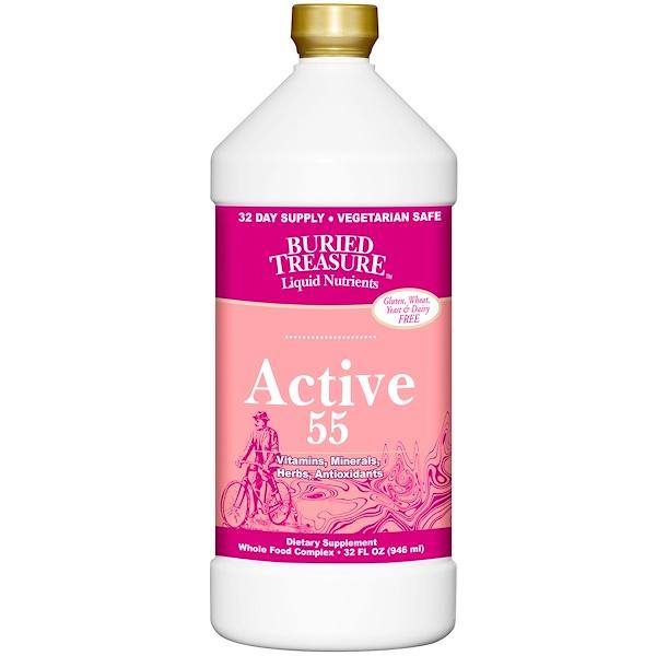 Buried Treasure, Liquid Nutrients, Active 55, 32 fl oz (946 ml) (Discontinued Item)