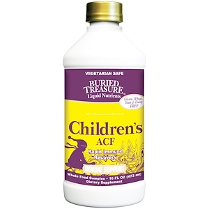 Бэрид Трежер, Liquid Nutrients, Children's ACF, 16 fl oz (473 ml) отзывы