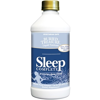 Buried Treasure, Nutrimentos, sueño completo, 16 fl oz (473 ml)
