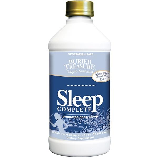 Buried Treasure, Nutritionals, Sleep Complete, 16 fl oz (473 ml) (Discontinued Item)