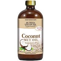 Жидкие питательные вещества, кокосовое масло, 16 жидких унций (473 мл) - фото