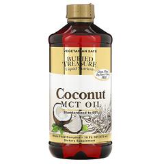 Buried Treasure, 液體營養素,椰子油,16 液量盎司(473 毫升)