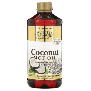 Buried Treasure, Liquid Nutrients, Aceite de Coco, 16 fl oz (473 ml)