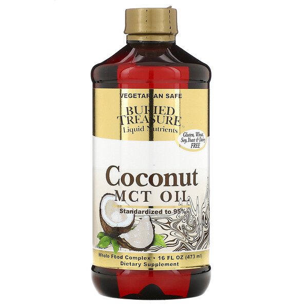 Liquid Nutrients, Coconut Oil, 16 fl oz (473 ml)