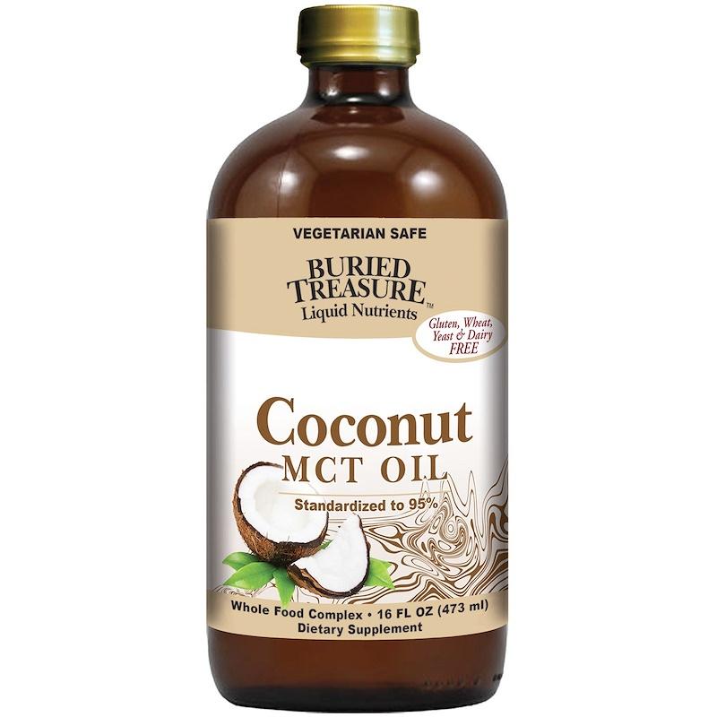 Liquid Nutrients, Coconut Oil, 16 fl oz (473 ml)